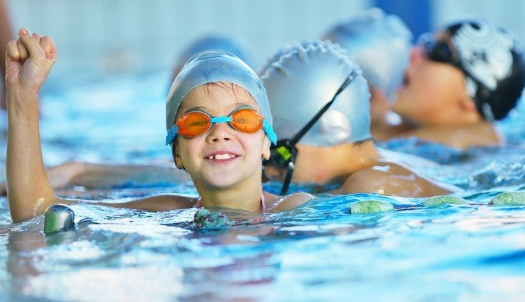 swimming competition for children