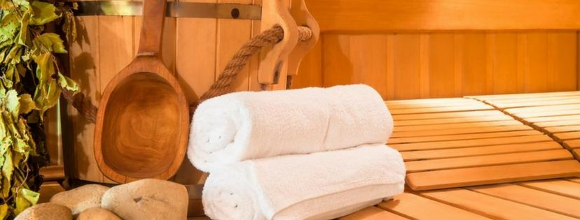 Common sauna room equipment