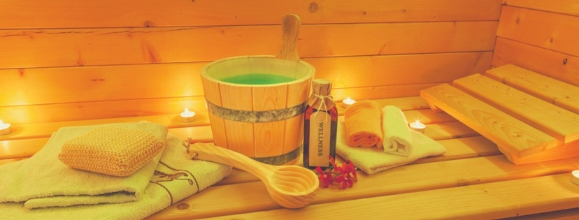 infrared sauna and acessories