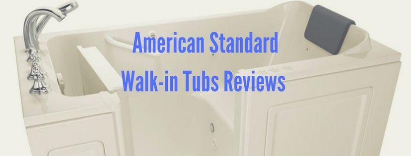 American Standard walk in tub reviews