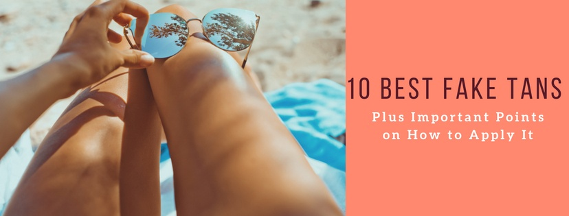 10 Best Fake Tans