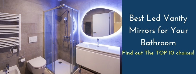 Ove Decors Villon Led Bathroom Mirror: Best Led Vanity Mirror Reviews: Check Out The TOP 10 Choices
