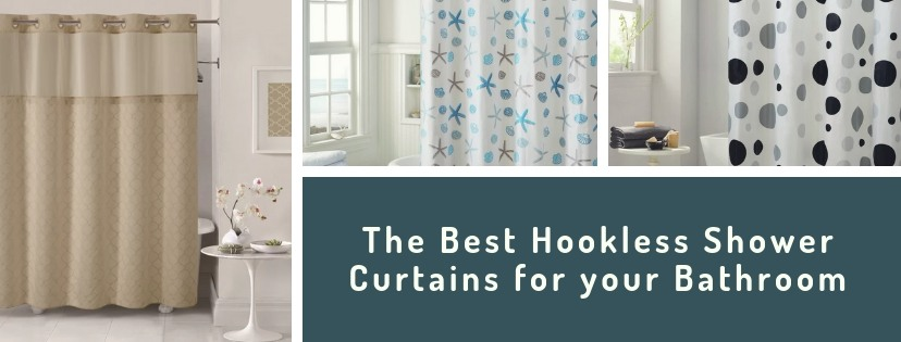 Best Hookless Shower Curtains