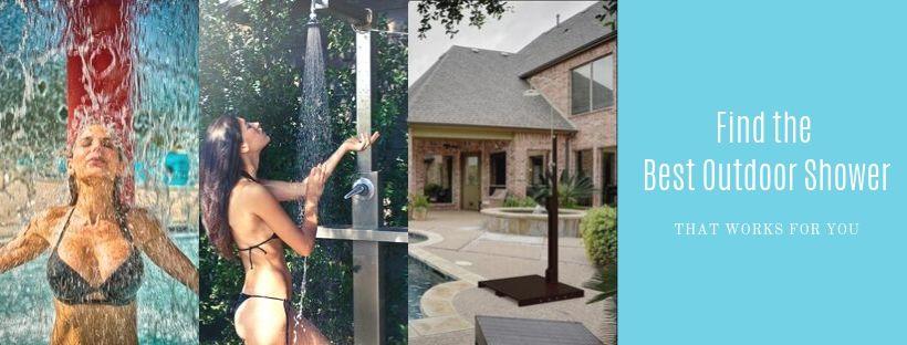 Find the Best Outdoor Shower