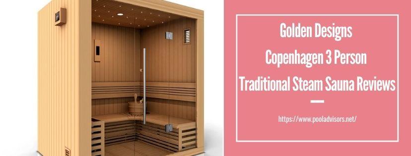 Golden Designs Copenhagen 3 Person Traditional Steam Sauna Reviews