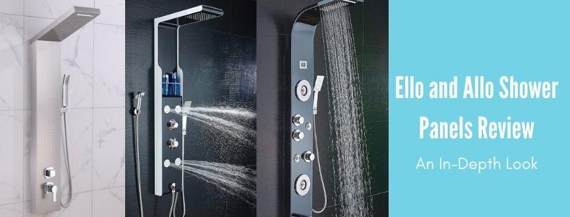 ello&allo shower panel reviews